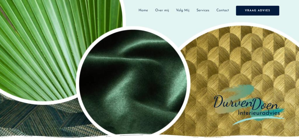 Durvendoen website gebouwd door Frankly SEO